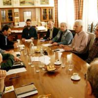Συναντήσεις της νέας Ν.Ε. του ΣΥΡΙΖΑ Κοζάνης με τον Περιφερειάρχη και τον Δήμαρχο Κοζάνης