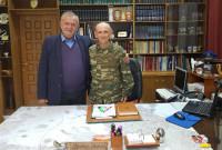Συνάντηση του βουλευτή Γ. Ντζιμάνη με το νέο Διοικητή της 9ης Ταξιαρχίας, Ταξίαρχο Κατσίκα Νικόλαο
