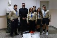 Δωρεά του 3ου Συστήματος Προσκόπων Κοζάνης στο Μαμάτσειο Νοσοκομείο Κοζάνης