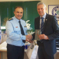 Κοζάνη: Συνάντηση του Περιφερειακού Αστυνομικού Διευθυντή Δυτικής Μακεδονίας με τον Γενικό Πρόξενο της Γερμανίας