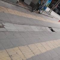 Επικίνδυνες κακοτεχνίες σε κομμάτι της οδού Κωνσταντινουπόλεως στην Πτολεμαΐδα – Δείτε φωτογραφίες