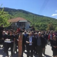 Δείτε φωτογραφίες από την υποδοχή των λειψάνων του Οσίου Νικάνορα από το μοναστήρι της Ζάβορδας στην Ελάτη με καβαλάρηδες