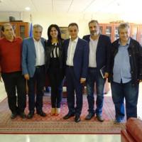 Συναντήσεις του Γ.Γ. του Υπουργείου Εσωτερικών Κώστα Πουλάκη στο Δημαρχείο Κοζάνης και στην Περιφέρεια Δυτικής Μακεδονίας