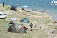 Διεξαγωγή αθλητικών αγώνων αλιείας κυπρίνου στην τεχνητή λίμνη Πολυφύτου