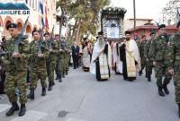Χιλιάδες πιστοί στην Λιτάνευση της Εικόνας της Παναγίας Ζιδανιώτισσας στην Κοζάνη – Δείτε βίντεο και το φωτογραφικό αφιέρωμα