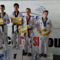 Πολλές επιτυχίες για τους αθλητές της Μακεδονικής Δύναμης Κοζάνης στο Δεύτερο Προκριματικό Πρωτάθλημα της Ένωσης Ταεκβοντό Βορείου Ελλάδος