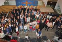 Παρουσία πλήθους κόσμου τα εγκαίνια της Διεθνούς Έκθεσης Αγιογραφίας στην Κοζάνη – Δείτε φωτογραφίες και βίντεο