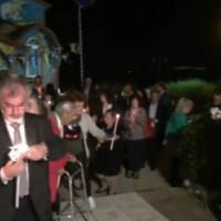 Δείτε το βίντεο από την Ανάσταση στη γραφική Νεράιδα Κοζάνης