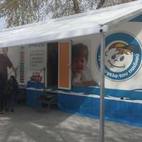 Στα Σέρβια Κοζάνης το κινητό πολυϊατρείο «Ιπποκράτης» από το Χαμόγελο του Παιδιού – Δείτε το βίντεο