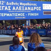 Βίντεο: Έδειξε τα… «δόντια» του ο Μιχάλης Παρμάκης στον 12ο Διεθνή Μαραθώνιο «Μέγας Αλέξανδρος» στη Θεσσαλονίκη