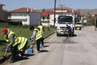 Στα Κοίλα Κοζάνης συνεχίστηκαν οι ολοκληρωμένες παρεμβάσεις του Δήμου σε θέματα καθαριότητας και πρασίνου