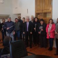 Πασχαλινές λαμπάδες και ευχές στους εργαζόμενους του Δήμου από τον Δήμαρχο Βοΐου
