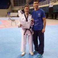 Με χρυσό μετάλλιο και μόρια για ΑΕΙ και ΤΕΙ η αθλήτρια της Εορδαϊκής Δύναμης Σάκκου Τριανταφυλλιά