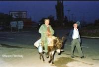 Η φωτογραφία της ημέρας: Νάνος Κωτούλας, ο γαλατάς της Κοζάνης τον Μάιο του 1988