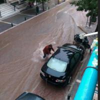 Νέα καταιγίδα πλημμύρησε τους δρόμους στην πόλη της Κοζάνης! Δείτε το βίντεο και φωτογραφίες