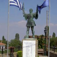 Το ετήσιο μνημόσυνο υπέρ των πεσόντων Μακεδονομάχων στη μάχη της Οσνίτσανης στη Δαμασκινιά Βοΐου
