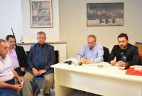 Σύσκεψη του Πάνου Ρήγα με την Ν.Ε. και Ο.Μ Κοζάνης, βουλευτές και στελέχη του ΣΥΡΙΖΑ