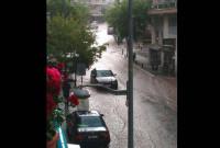Ποτάμι ο οδός Παύλου Μελά στο κέντρο της Κοζάνης! Δείτε φωτογραφίες