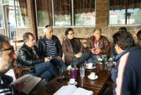 Οι ζημιές από το χαλάζι στους Πύργους Εορδαίας αντικείμενο της σύσκεψης φορέων και αγροτών με τη Ν.Ε. ΣΥΡΙΖΑ Κοζάνης