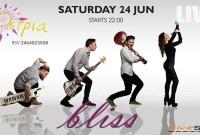 Καλοκαιρινό Live με τους Bliss το βράδυ του Σαββάτου 24 Ιουνίου στο Ostria στην Νεράιδα!