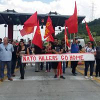 Υποβολή δικογραφίας από την Αστυνομία σε βάρος μελών του ΚΚΕ για το μπλοκάρισμα των ΝΑΤΟϊκών δυνάμεων στα διόδια Πολυμύλου