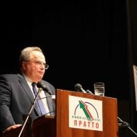 Ο υπουργός Εξωτερικών Νίκος Κοτζιάς στην Κοζάνη – Τι είπε για το ζήτημα του χρέος της χώρας και για τα γεωπολιτικά θέματα