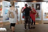 Φωτογραφίες: Πανέμορφες δημιουργίες στην ετήσια έκθεση ζωγραφικής ενηλίκων του Εικαστικού Εργαστηρίου Δήμου Κοζάνης
