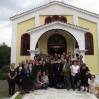 Επίσκεψη στο Παρεκκλήσι του Αγίου Βαραδάτου από τον Ι.Ν. Αγίου Διονυσίου Βελβεντού – Του παπαδάσκαλου Κωνσταντίνου