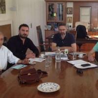 Συνάντηση αντιπροσωπείας της ΟΜ ΣΥΡΙΖΑ Κοζάνης με τον Δήμαρχο Κοζάνης