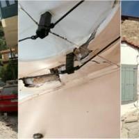 Σεισμός 6,1 Ρίχτερ ανοιχτά της Λέσβου – Κατέρρευσαν σπίτια σε Πλωμάρι και Βρίσα