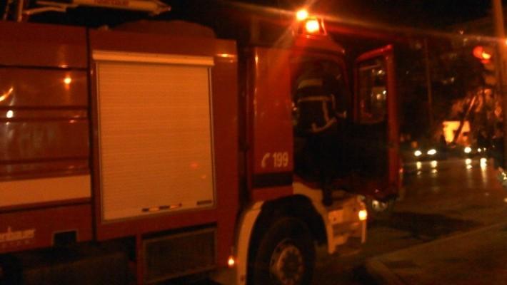 Η ανακοίνωση της Πυροσβεστικής για την πυρκαγιά σε πυλωτή πολυκατοικίας στην οδό Χ. Καρούζου στα Πλατάνια Κοζάνης