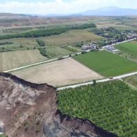 Σοκαριστικές αεροφωτογραφίες από το Ορυχείο Αμυνταίου μετά την κατολίσθηση!