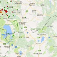 Στον χορό των ρίχτερ η γειτονική Οχρίδα: Πάνω από 40 σεισμικές δονήσεις, ένα 24ωρο από τον σεισμό της Δευτέρας