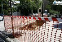 Ξεκίνησαν οι εργασίες για τον πρώτο υπόγειο κάδο στην Κοζάνη – Δείτε φωτογραφίες