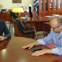 Βίντεο: Επίσκεψη του Γενικού Πρόξενου της Κύπρου στη Θεσσαλονίκη, στον Περιφερειάρχη Θ. Καρυπίδη