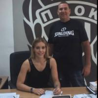Στην γυναικεία ομάδα μπάσκετ του ΠΑΟΚ η ταλαντούχα Κοζανίτισσα Βάγια Καρακούλα