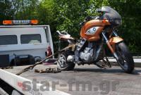 Τροχαίο ατύχημα στην Εγνατία Οδό στο ύψος των Γρεβενών με έναν τραυματία οδηγό μηχανής