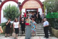 Με τη φράση «Φεύγει ο Άγιος», το Βελβεντό  ξεπροβόδισε το ιερό λείψανο του Αγίου Διονυσίου εν Ολύμπω