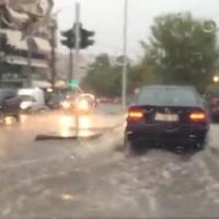 Προβλήματα από την κακοκαιρία σε Γρεβενά και Καστοριά – Δείτε τα βίντεο