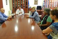 Επίσκεψη εκπροσώπων της αποστολής από την Αγία Πετρούπολης Ρωσίας στην Περιφέρεια Δυτικής Μακεδονίας