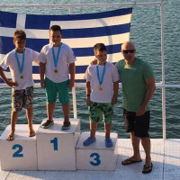 5 συμμετοχές και 5 μετάλλια για τους αθλητές του Ναυτικού Ομίλου Κοζάνης στο Πανελλήνιο πρωτάθλημα θαλάσσιου σκι στο Αγρίνιο