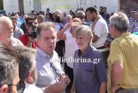 Βίντεο: Έντονη διαμαρτυρία κατοίκων των Αναργύρων στον βουλευτή του ΣΥΡΙΖΑ Κοζάνης, Μίμη Δημητριάδη