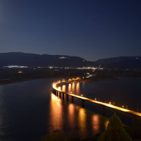 Η φωτογραφία της ημέρας: Πανσέληνος Σεπτεμβρίου με την καλύτερη θέα της Κοζάνης