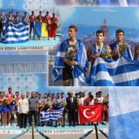 Δύο χρυσά μετάλλια για τους αθλητές του Ναυτικού Ομίλου Κοζάνης στο Βαλκανικό Πρωτάθλημα Κωπηλασίας 2017