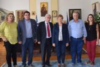 Συνάντηση εργασίας Δημάρχου Βοΐου με την Υφυπουργό Εσωτερικών κ. Μαρία Κόλλια – Τσαρουχά στη Θεσσαλονίκη
