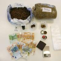 4 συλλήψεις για διακίνηση ναρκωτικών στην Κοζάνη – Κατασχέθηκε πάνω από 1 κιλό κάνναβης – Δείτε φωτογραφία