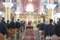 Ο Μητροπολίτης Σερβίων και Κοζάνης Παύλος στην 1η ιερατική σύναξη 2017-2018 στην Παναγία Βλαχερνών Τετραλόφου