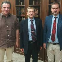 Συνεχίζονται οι επαφές για την ανάπτυξη διεθνούς δικτύου επαφών της Κοβενταρείου Βιβλιοθήκης