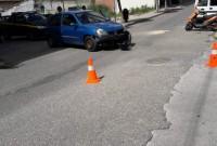 Τροχαίο ατύχημα και τραυματισμός ηλικιωμένου στην Κοζάνη – Δείτε φωτογραφίες