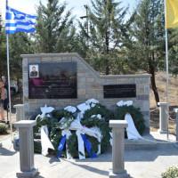 Αθάνατος! Με τη δέουσα τιμή τα αποκαλυπτήρια του μνημείου του ειδικού φρουρού Στάθη Λαζαρίδη στο Τσοτύλι – Δείτε βίντεο και φωτογραφίες